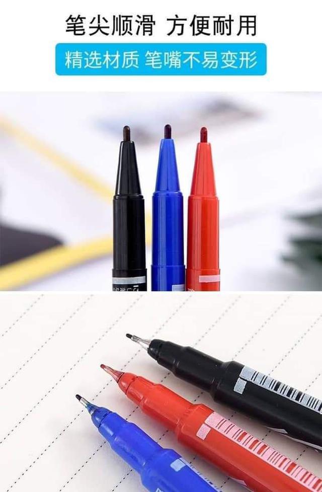 雙頭油性筆10隻