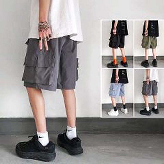 新款男性多工短褲