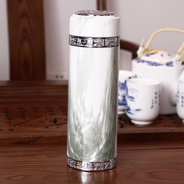 鋅合金陶瓷杯 保溫杯 陶瓷杯 泡茶杯 聖誕禮物 禮贈品