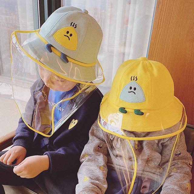(預購)兒童、寶寶防護帽-飯糰款