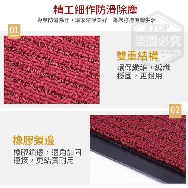 (預購e) 素色除塵防滑地墊
