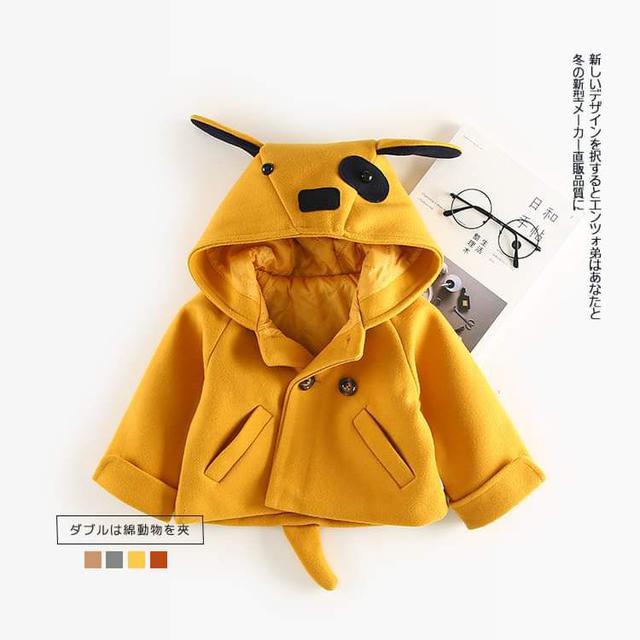 【預購】小小童韓版動物連帽外套