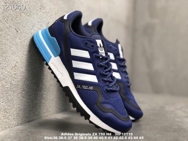 阿迪達斯 真標帶半碼 Adidas Originals ZX 750帆布鞋