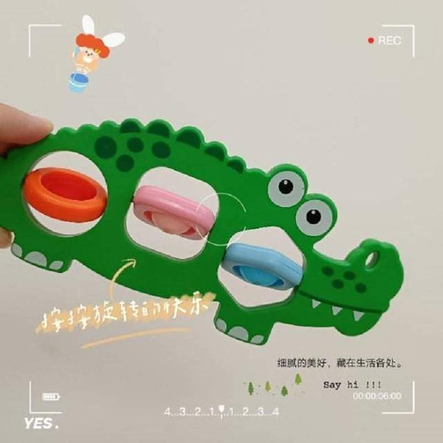 (預購S) G1170 - 指尖捏泡泡樂旋轉紓壓玩具