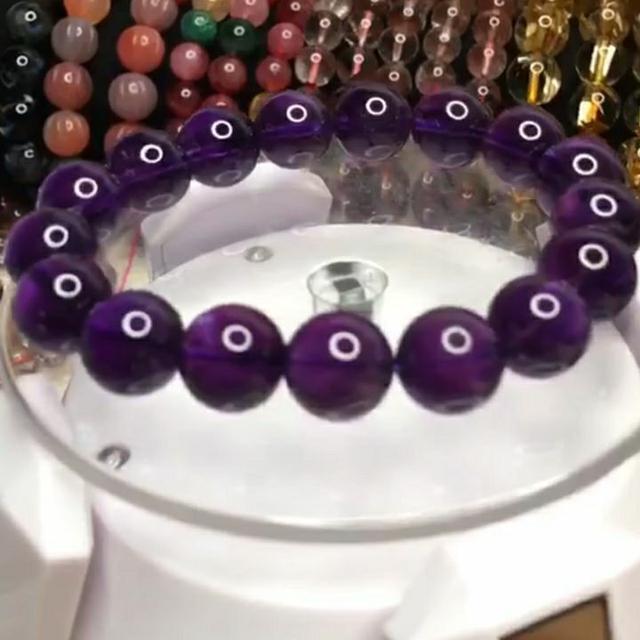 天然水晶🔮烏拉圭紫水晶手珠🔮