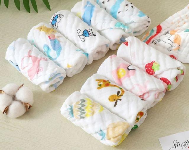 【現貨】泡泡六層紗口水巾