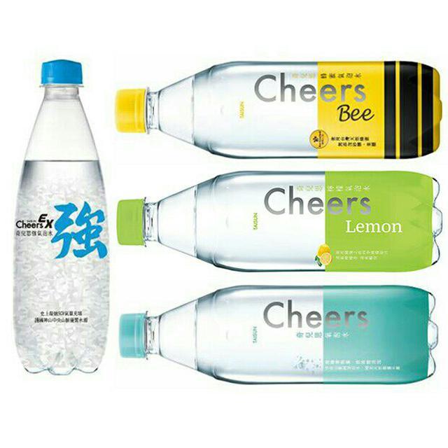 泰山 Cheers氣泡水/強氣泡/檸檬氣泡水/蜂蜜氣泡水(24入/箱) 無糖無熱量無負擔