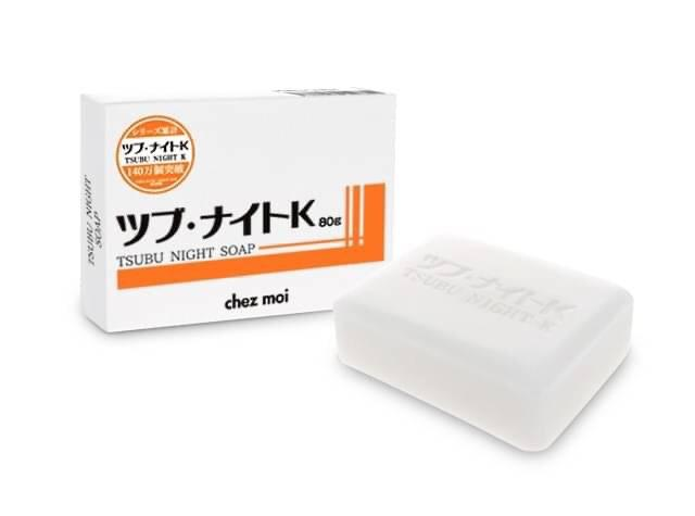 🇯🇵Tsubu Night Pack去肉芽 去脂肪粒 去頑固角質 保濕修護皂