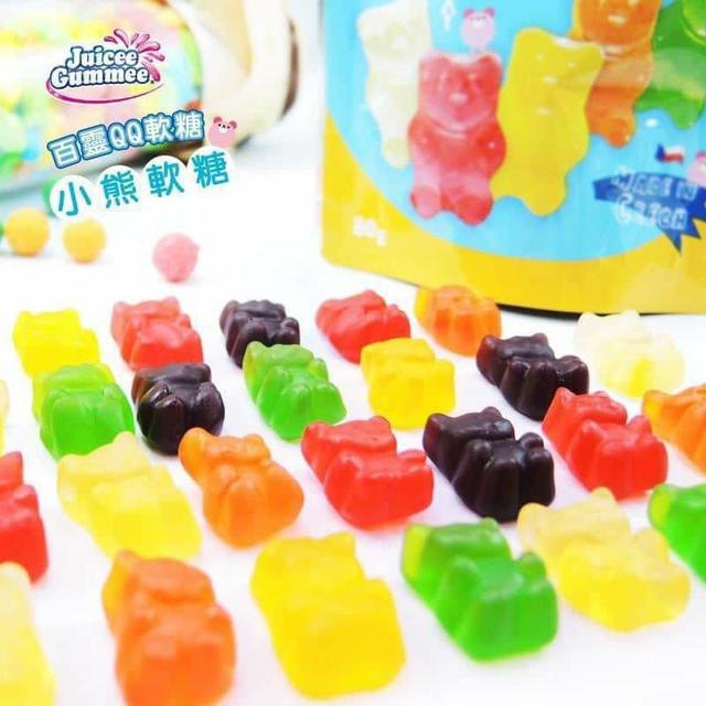 百靈綜合水果QQ糖大包裝300g