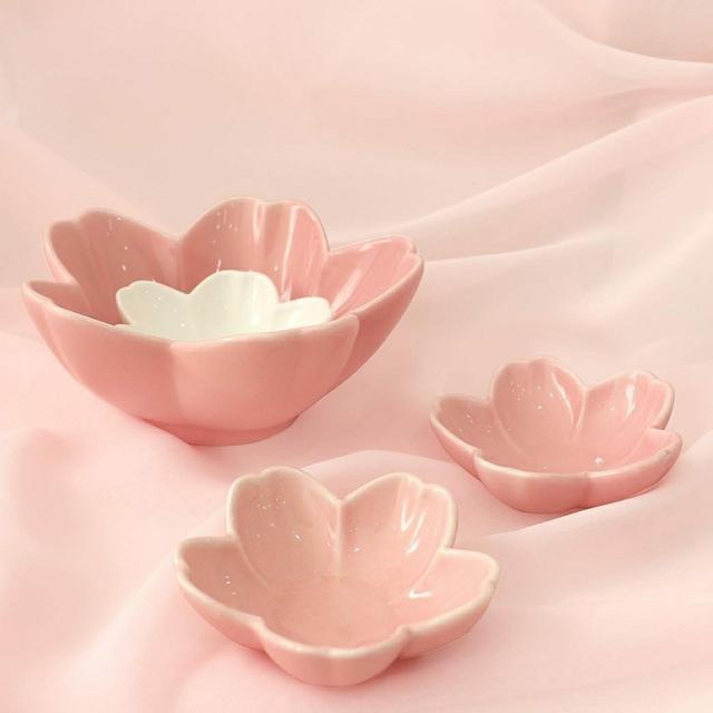 韓國大創櫻花餐盤