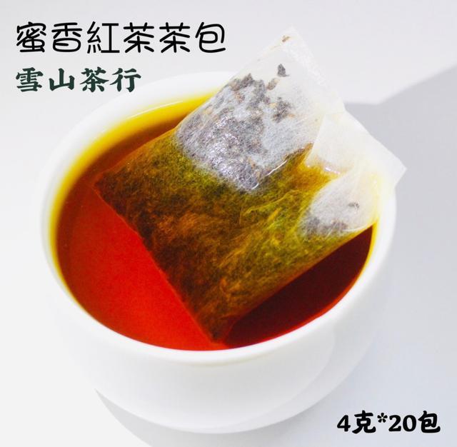 🍵【雪山茶行】蜜香紅茶茶包 紅玉 紅韻 自產自銷 坪林茶 比賽茶 蜜香 冷泡茶 袋茶 春茶 冬茶