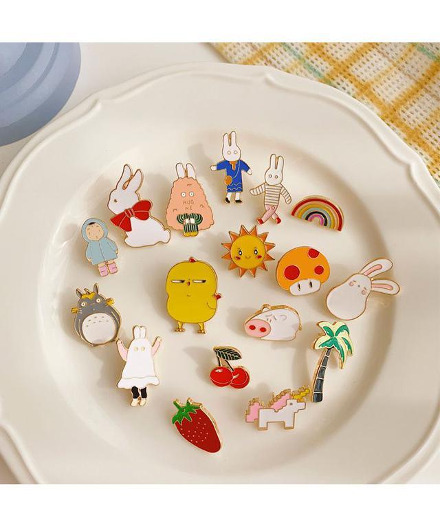 預購#日系可愛卡通領結胸針(10個)