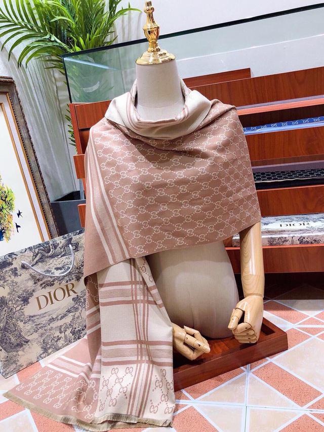 GUCCI(古馳)💋💋💋 絲巾圍巾2