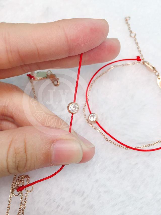 (預購e) 法國設計師&台北101聯名同款 101浪漫邂逅紅繩手鍊