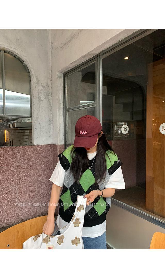 p.in shop-韓版復古老帽