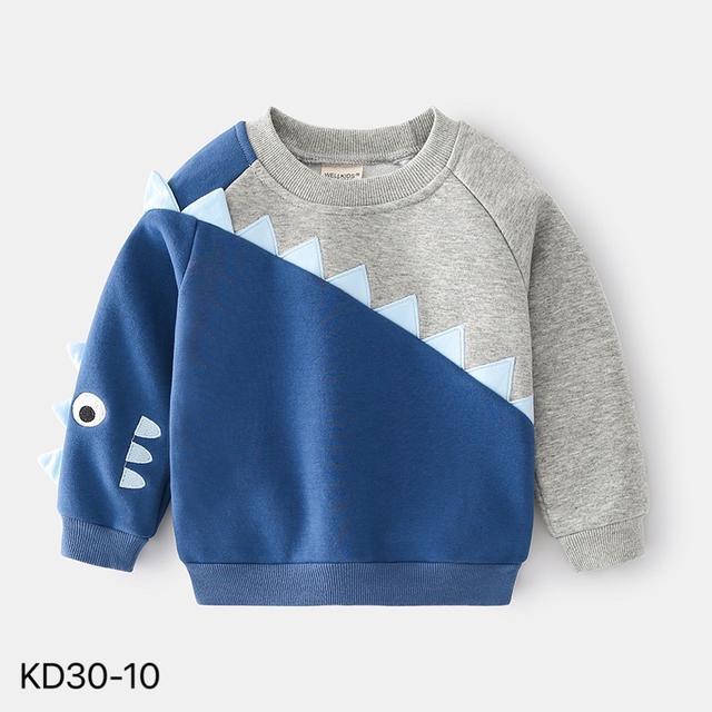 KD30-10 韓版加絨造型休閒上衣