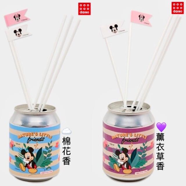 韓國 大創限定 米奇易開罐造型擴香瓶 150ml