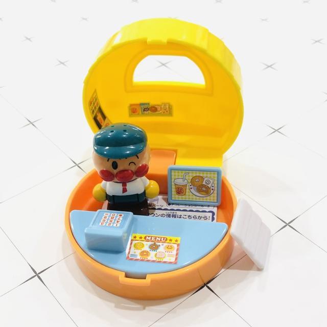 日本麵包超人場景系列攜帶式小玩具公仔❤️