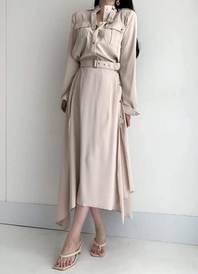 【預購🇰🇷韓國】超美開叉長洋裝