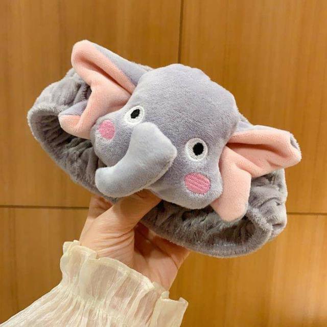 H026 - 韓國超可愛大娃娃洗臉髮帶