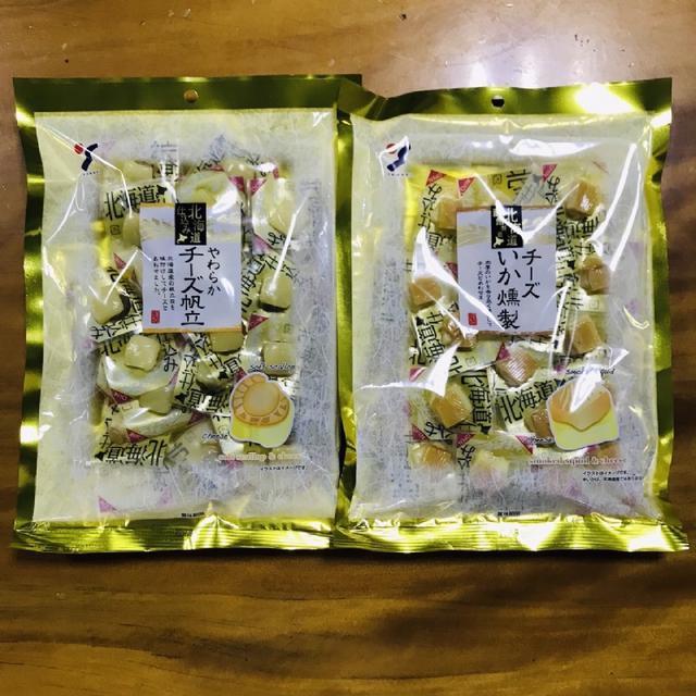 現貨 日本北海道 一口起司帆立貝/煙燻起司魷魚 兩款可選