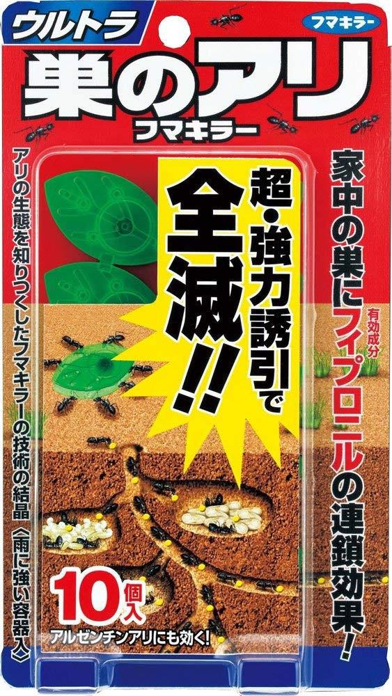 日本earth葉片造型螞蟻全滅驅趕盒~