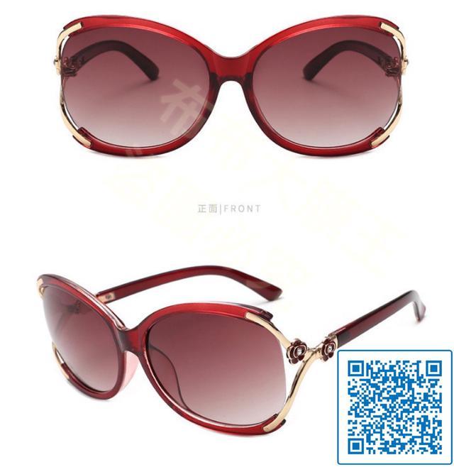 新款男女潮流同款韓版太陽鏡復古 圓框平光鏡潮近視眼鏡框架