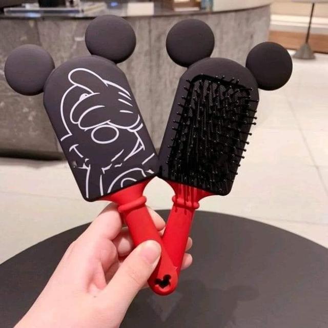 現貨1(預購e) 日本東京Disney樂園 外貿米奇造型氣囊彈性梳子