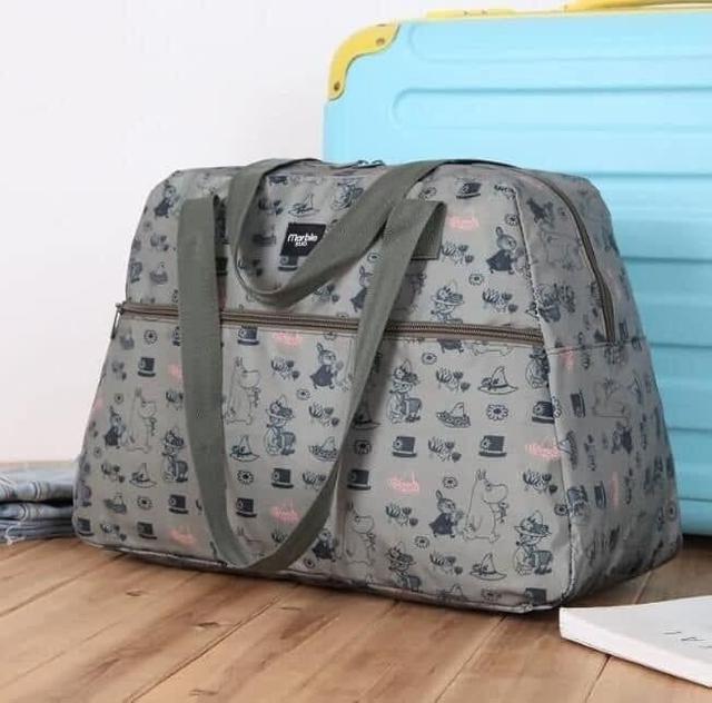 預購商品11/19結單  日本雜誌附錄 嚕嚕米大容量旅行手提行李包