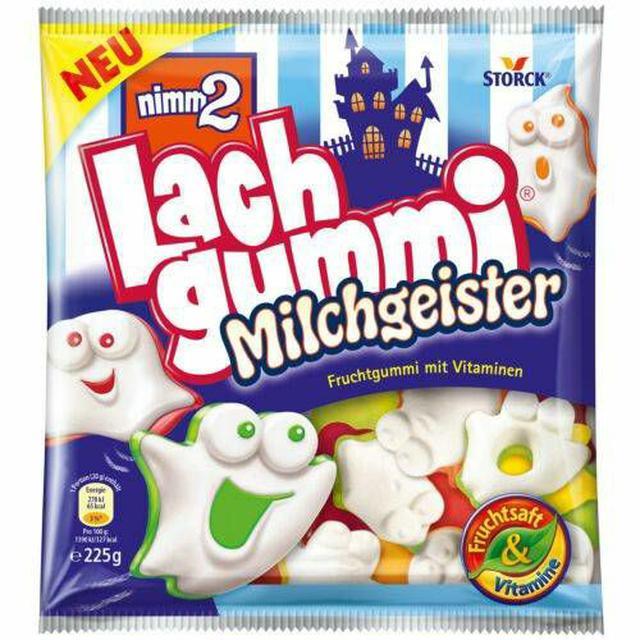 德國 nimm2 萬聖節 牛奶鬼軟糖 225g