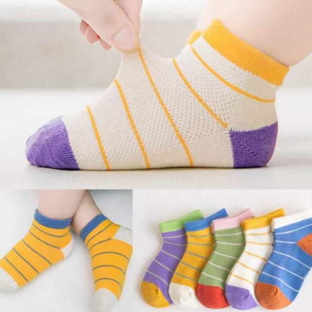 【現貨】舒適兒童襪(細條紋)