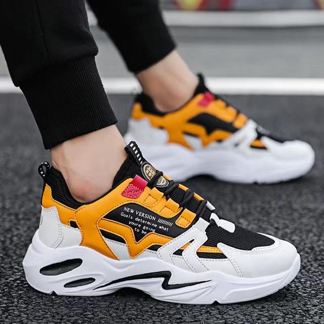 2020秋季內增高男鞋潮夏季板鞋休閒跑步運動鞋子男透氣低幫鞋