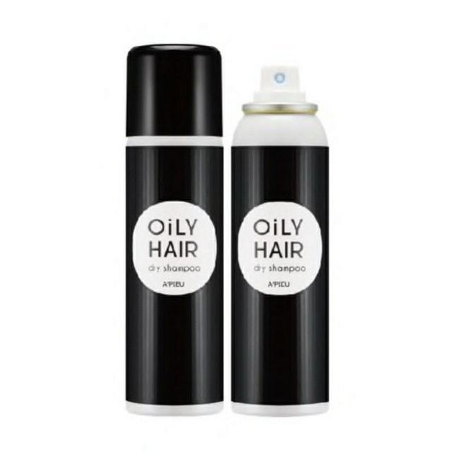 韓國 Apieu Oily Hair Dry Shampoo 急救香氛乾洗髮噴霧 100ml