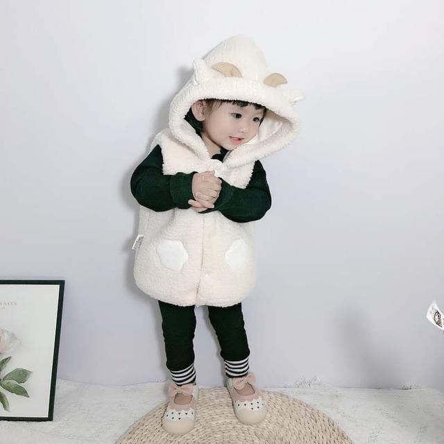 【預購】寶寶造型保暖背心