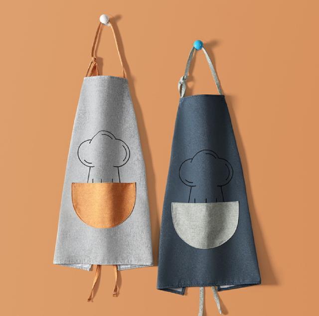 [雜貨店]💖(2入)(混出)廚房圍裙工作圍裙開店圍裙💖