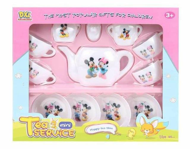 (預購S)G-529卡通兒童下午茶家家酒12件套