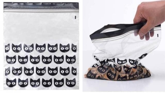 日本 黑貓夾鏈袋2.5L 15入