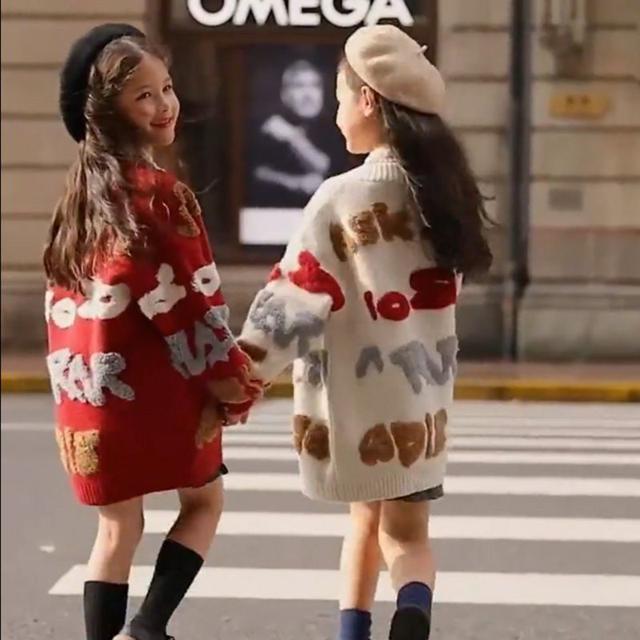 【早鳥優惠】親子裝毛衣外套中長版110-170cm