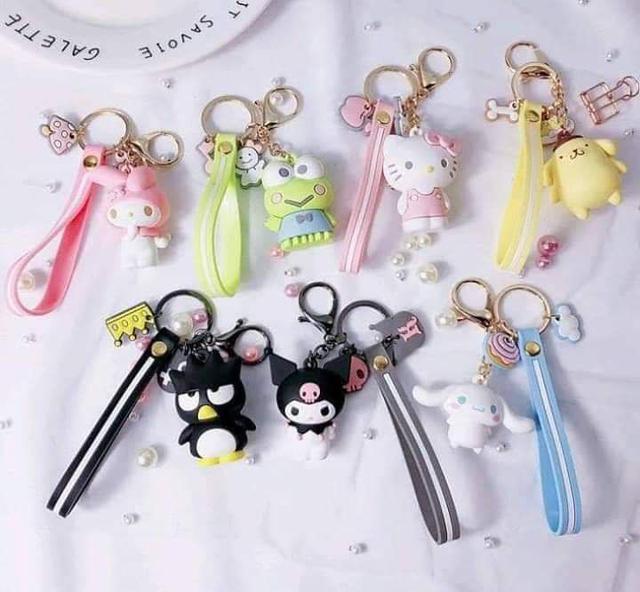 日本超可愛鑰匙圈配件掛飾