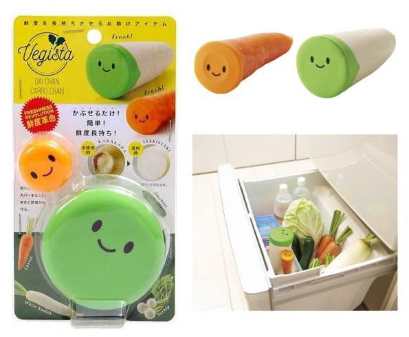 日本根莖類蔬果保鮮罩~