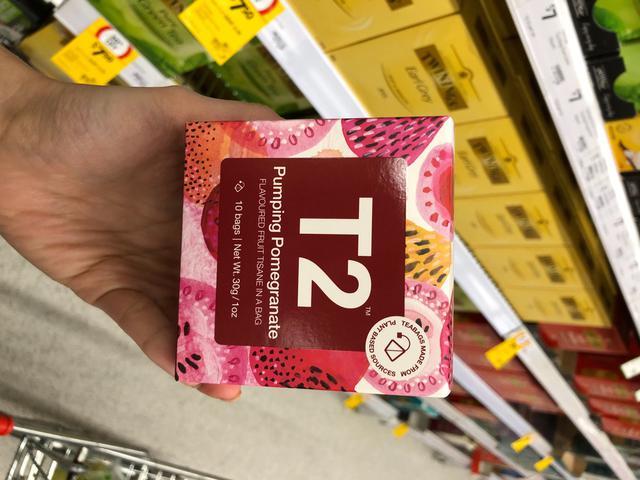 澳洲T2 茶包~超商代購~新包裝