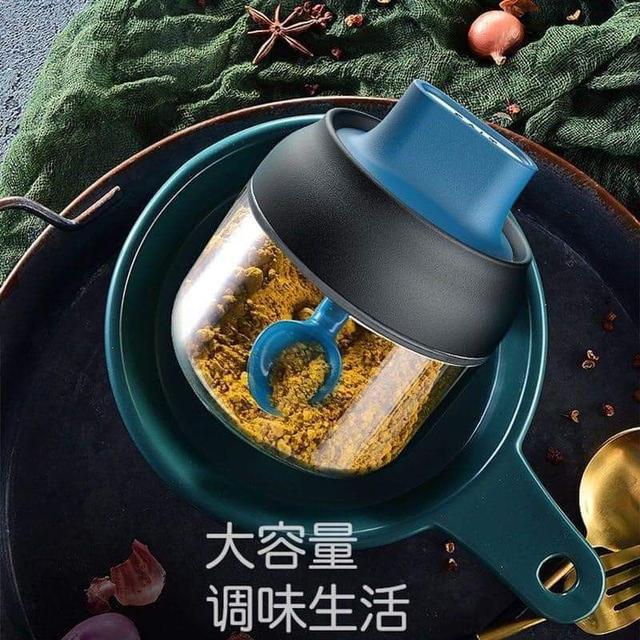 外銷日本密封勺子調味瓶280ml