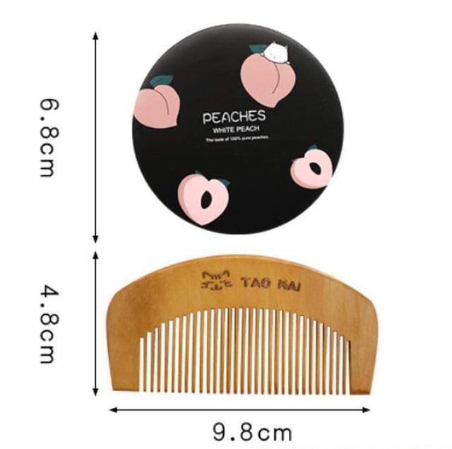 (預購s+) A437-韓版卡通鏡梳套裝