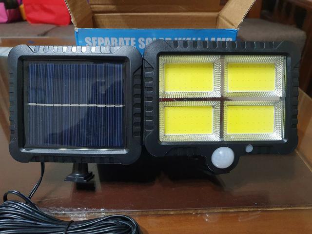 分離式~智能人體感應~ 太陽能燈~130瓦超高亮