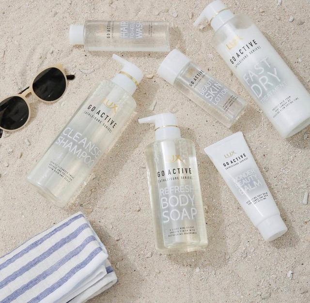 【預購】日本境內版   LUX GO ACTIVE 沐浴露+化妝水套組