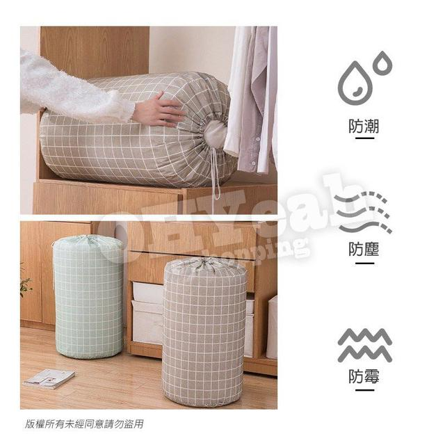 2/8結單-*超大容量!圓形棉被收納袋-不挑款(約83*46cm)