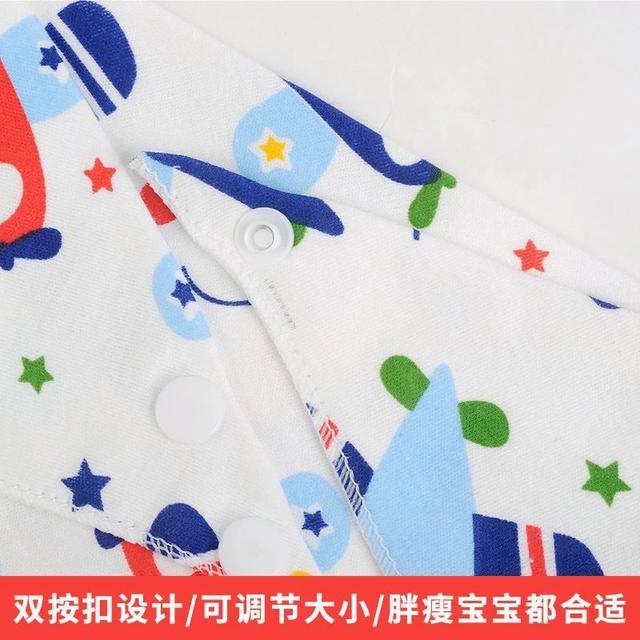 10條裝嬰兒童口水巾純棉雙層春夏季圍嘴兜LSJ19072902