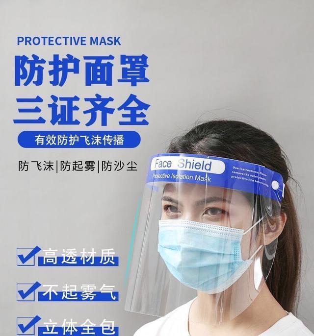 預購.團購/防護面罩面屏透明全臉罩帽