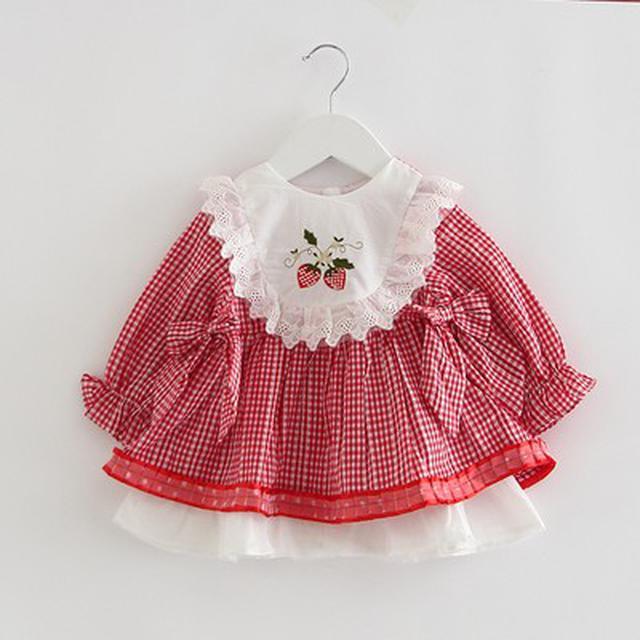 預購-9202新款西班牙風格碎花連衣裙(I)