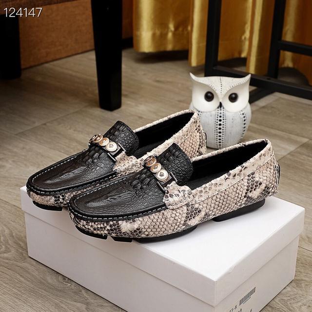 頂級原單 【VERSAEC】範思哲 新款男士休閒套腳鞋🇨🇳香港專櫃同步